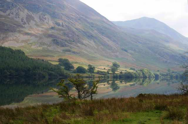 Hazy Crummock Water