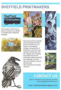 Sheffield Printmakers Flyer